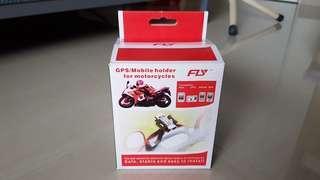 Motorbike phone/gps holder