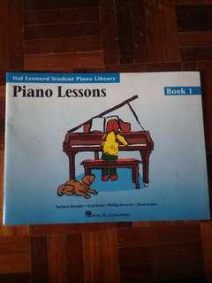 FREE Piano learning book