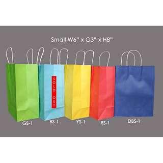 Assorted Paperbags good for Business, Occasions