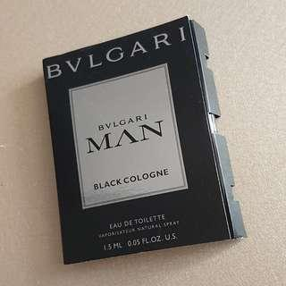 bvlgari man black cologne + in black 2支set