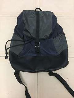 Authentic Topman back pack dark blue/black