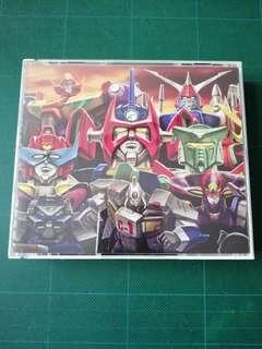 日本動漫CD ロボットアニメ大鑑 下巻