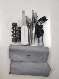 Hair Straightener and styling equipment