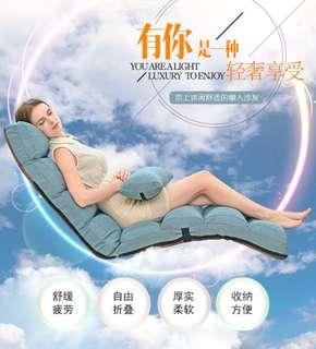 Single foldable washable lazy couch sofa bed lounge chair