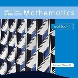 Hodder mathematics workbook 1,2,3