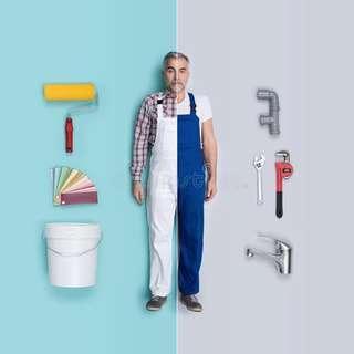 Painter plumber tukang cat tukang paip