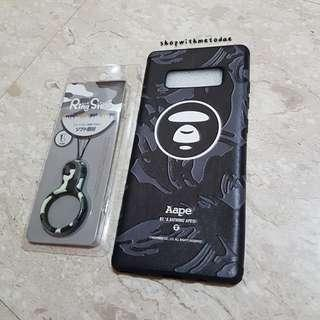 INSTOCK Bathing Bape Camo Samsung Note 8 / S8 plus casing
