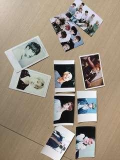 Bts photo cards