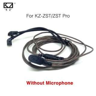 KZ Cable Wire Type B connector L shaped