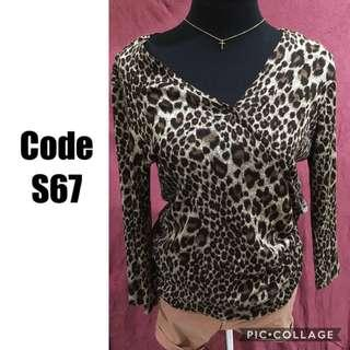 Knitted sweater S67