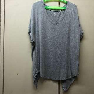 Cotton on Body Workout T shirt Open Back