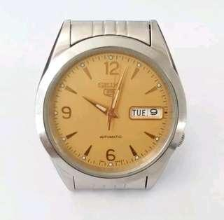 Seiko 5 Military Watch Cream Dial Automatic