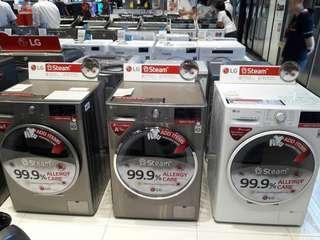 Lg washing machine frontload