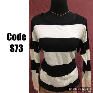Knitted sweater S73