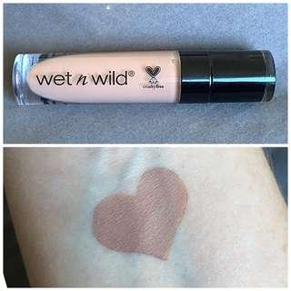 WET N WILD CATSUIT LIQUID LIPSTICK IN NUDIE PATOOTIE