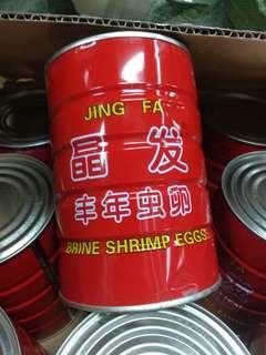 425g 西藏AA級豐年大紅蝦卵 鹽水蝦蛋鹵蟲海洋營養魚食餵養飼料