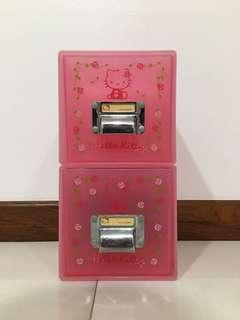Authentic Hello Kitty CDs drawers