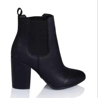 black billini jaida ankle boots
