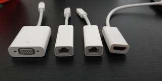 Apple Thunderbolt to HDMI/ETHERNET/VGA