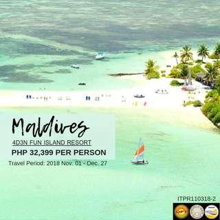 Maldives 4D3N Fun Island Resort