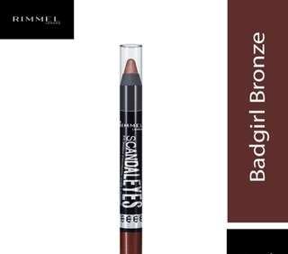 🚚 Bn rimmel #003 scandaleyes eyeshadow stick badgirl bronze