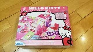 全新未開封Hello Kitty貼紙機