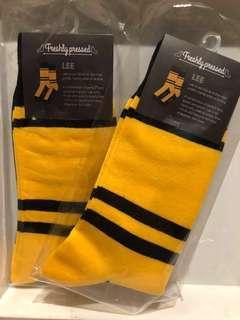 Yellow/Black Socks