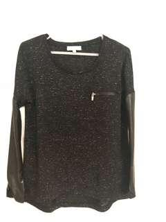 Basic Black Long sleeves with a twist.
