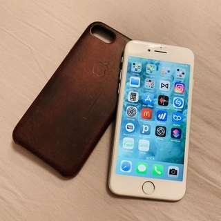 iPhone 7 myset + leather case
