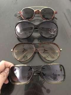 Sunglasses (price for 4)