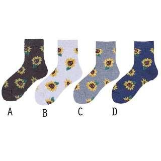 T92 Sunflower Socks