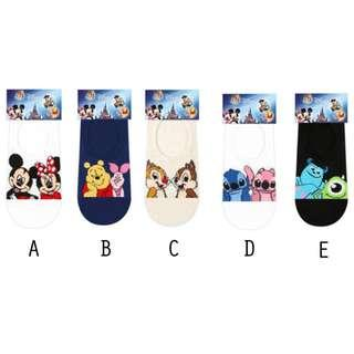 T92 Disney Cartoon Socks