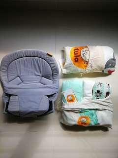 Tula infant insert and tula blankets