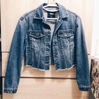 Spao Cropped Denim Jacket