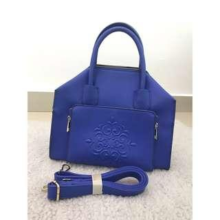 Sakura Malaysia Blue Tote Sling Bag