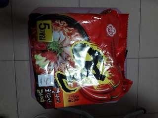 🚚 韓國泡麵一大包內有5包便宜賣運費自付