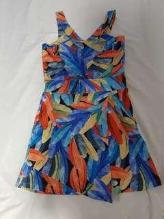 Hawaiian themed party dress