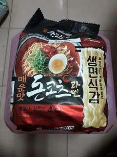 🚚 韓國泡麵一大包內有4包便宜賣運費自付