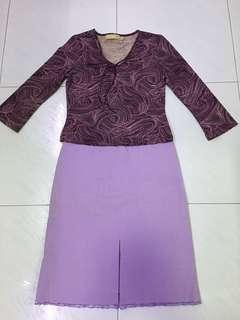 2 pc Purple dress(S) incl normal mail