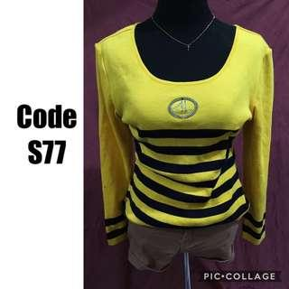 Knitted sweater S77