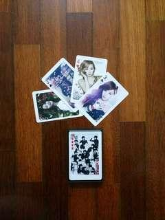 Girls Generation Deck Cards (Made in Korea) #SBUX50