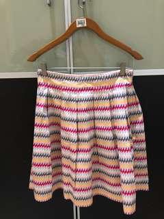 Prenloved French connection colors skirt XS