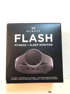 Misfit flash fitness+sleep 運動睡眠偵測