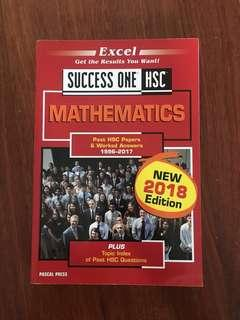 Excel mathematics 2U past paper book from 1996-2017