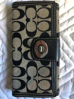 Coach women wallet