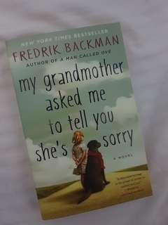 My Grandmother Asked Me To Tell You She's Sorry-Fredrik Backman