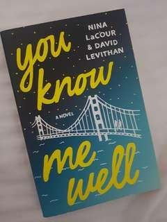 You Know Me Well-David Levithan/Nina Lacour
