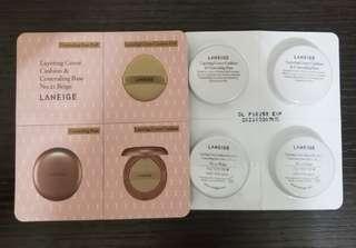Laneige cushion sample 氣墊粉底
