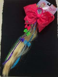 JoJo Siwa faux hair bow
