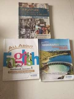 Books (secondary 1)